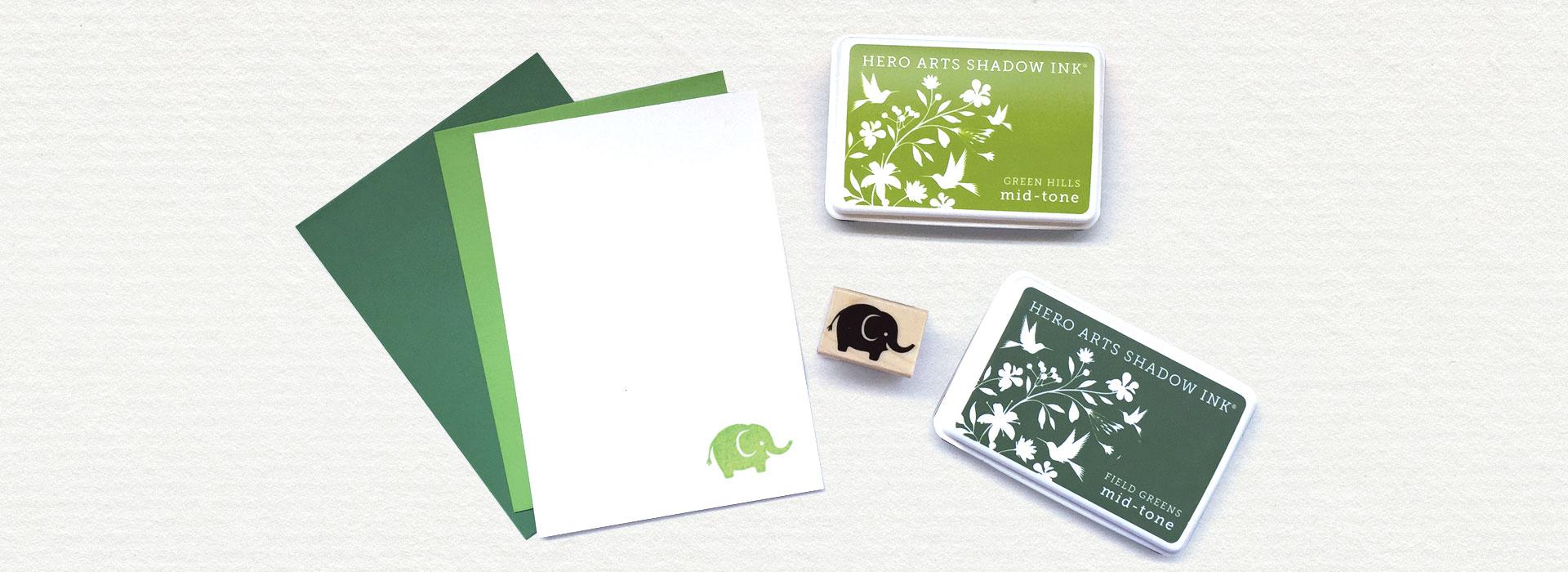 Hero Arts Stamps Ink Pads Die Cutting