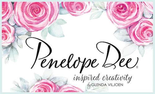 Penelope Dee scrapbooking paper